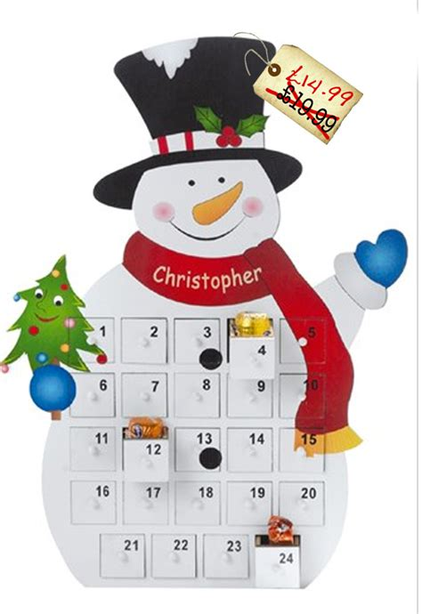 printable snowman advent calendar search results for christmas shopping list calendar 2015
