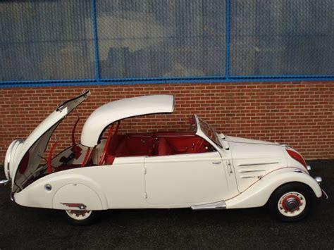 vintage peugeot car 1938 peugeot 402bl eclipse decapotable french vehicles