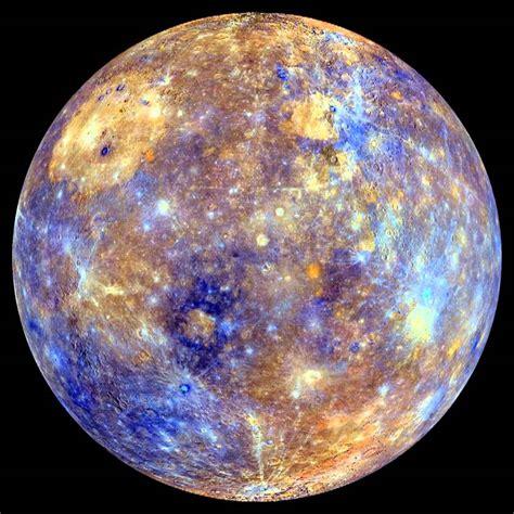 mercury color messenger false color mercury globe spin