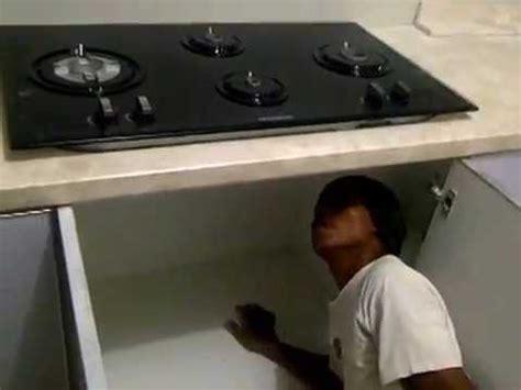 Kompor Gas Tanam Untuk Kitchen Set pemasaangan kompor kitchen set