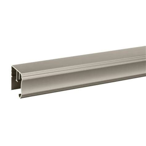 Shower Door Tracks Delta 31 In Pivoting Shower Door Track Assembly Kit In Nickel Sdlp031 Nic R The Home Depot