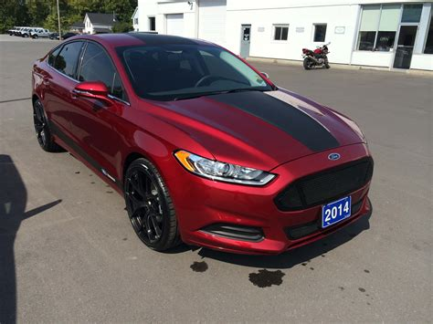 2014 ford fusion custom custom vehicles redesign