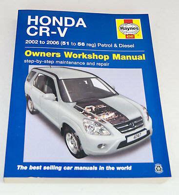haynes repair manual honda civic cr v honda civic 2001 through 2010 honda cr v 2002 honda cr v repair manual bing images