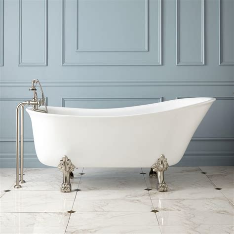 footed bathtubs restoria monarch classic roll top clawfoot tub 25 best