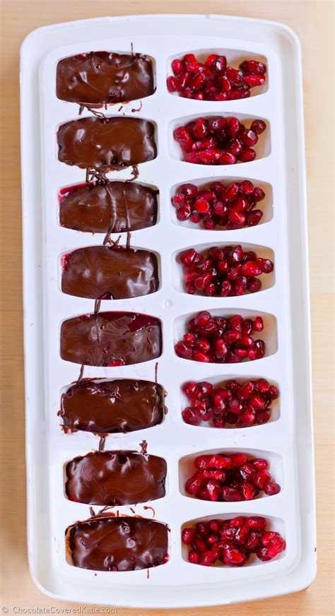 Handmade Candies - make your own chocolate candies in an cube tray