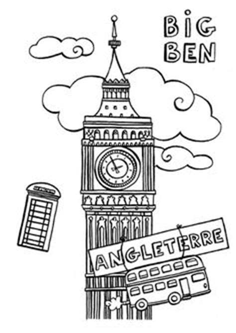 Angleterre / Londres: bricolages, coloriages pour enfant