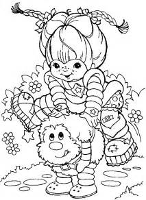 Animations A 2 Z Coloring Pages Of Rainbow Brite