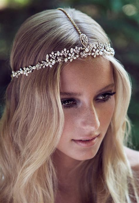 Hairstyle Accessories by Wedding Accessories 20 Charming Bridal Headpieces To Match