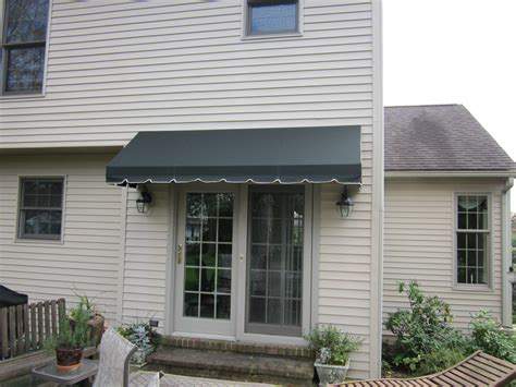 french canopy awning doorhood awning over a french door kreider s canvas