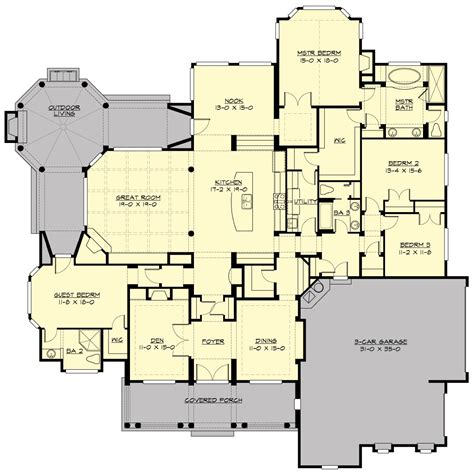 the house plan palladian 3251 4 bedrooms and 3 5 baths the house designers