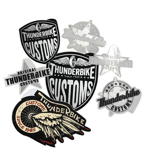 Harley Aufkleber Set by Thunderbike Aufkleber Set Im Thunderbike Shop