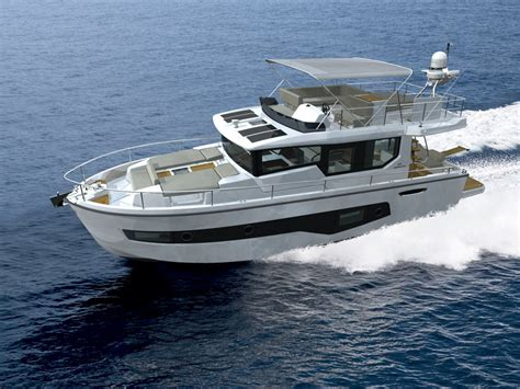 new boats new cranchi eco trawler 43 long distance power boats