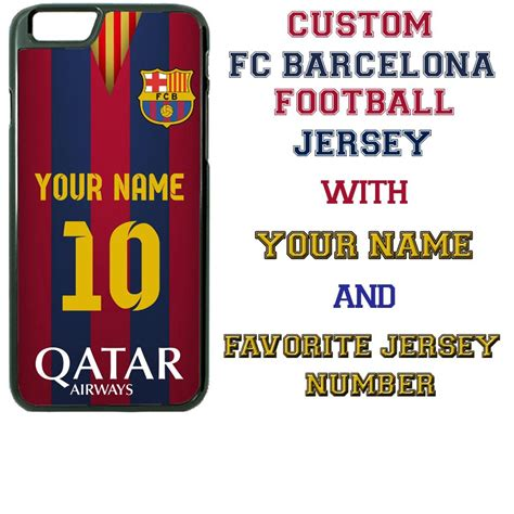 Fcb Barcelona Jersey Away 2011 Iphone 5c Casing Cover Fc Barcelona Your Name Jersey Number Cell Phone