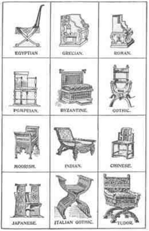 Different Kinds Of Chairs by 18 Best Images About Chair Styles And Types On