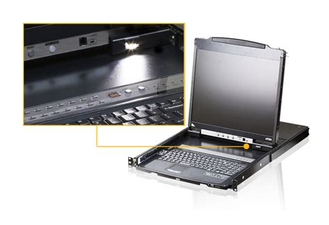 Lcd Console Drawer by Aten 19 Inch Cl5800n Dual Rail Lcd Console Drawer Comms