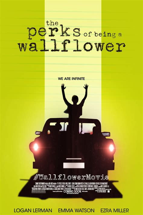 libro art of being a the perks of being a wallflower fan made poster by tributedesign on