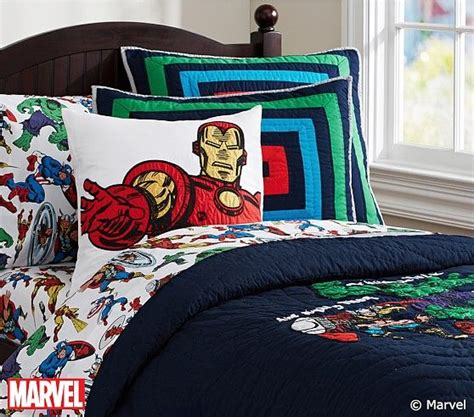 Pottery Barn Boys Bedding by Marvel Quilted Bedding Pottery Barn 34th St E