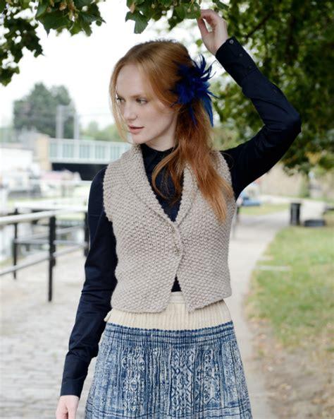 knitting pattern waistcoat iago waistcoat knitting pattern purl alpaca designs