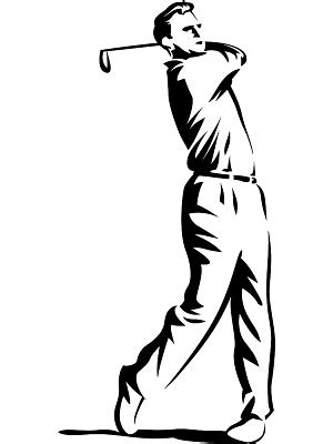 golf swing clip art golfer free golf clipart and animations image 35888