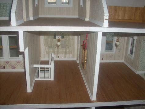 4 foot doll house vintage little orphan annie wooden dollhouse 4 feet wide 10 rooms rare beauty ebay