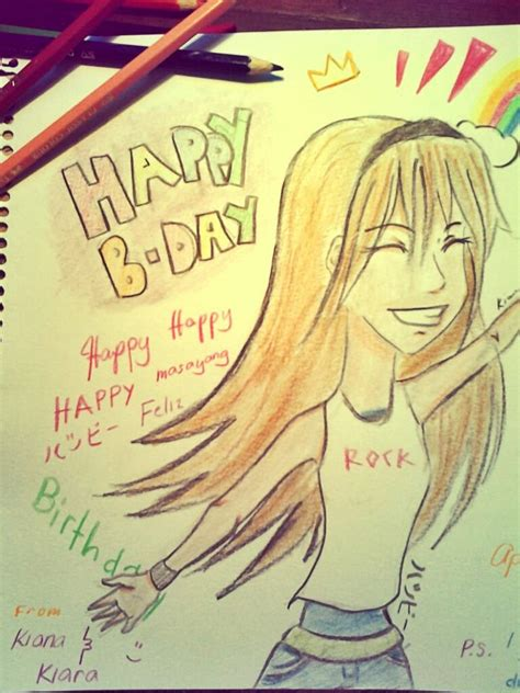 Happy Birthday To My Best Friend Card Happy Birthday Card To My Best Friend Part By Mekikatoka