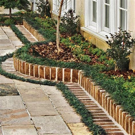 Recycled Garden Edging Ideas Landscape Edging Ideas Around Trees Inexpensive Landscape Edging Ideas Interior Design