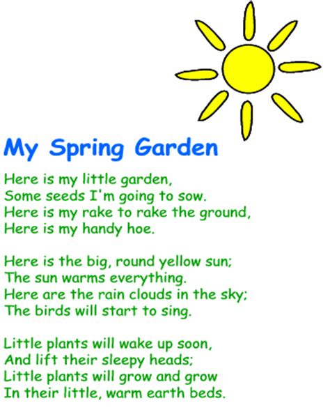 Garden Poems by Garden