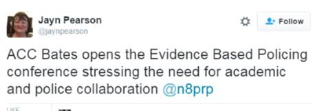 Exploring Evidence Based Practice exploring evidenced based policing an n8 policing
