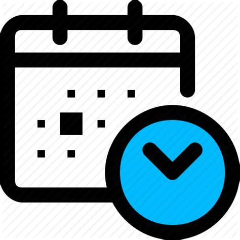 calander clock cron jobs icon
