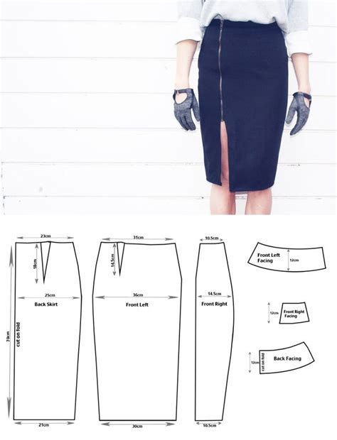 Pattern Drafting For Pencil Skirt | 297 best fashion patterns skirts images on pinterest