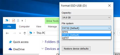 android format sd card exfat what s the difference between fat32 exfat and ntfs
