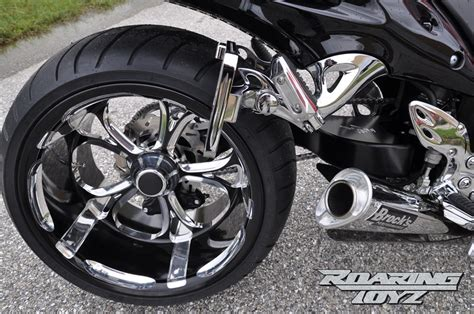 swing arm kits for motorcycles roaring toyz billet single sided swingarms