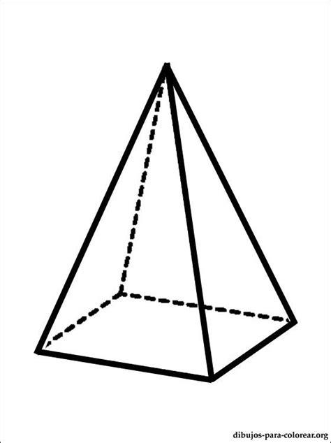 imagenes de pirmides geometricas dibujo de pir 225 mide para pintar dibujos para colorear