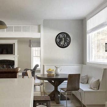 Eat In Kitchen Island Designs Modern Breakfast Nook With Moravian Pendant Modern Kitchen