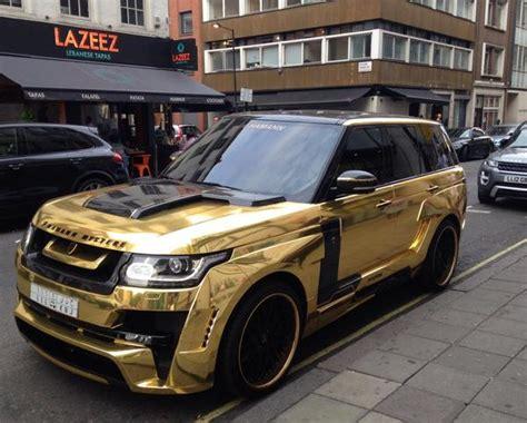 range rover gold gold plated range rover pixshark com images