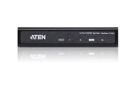 M Tech Hdmi Splitter 1 4 2 port 4k hdmi splitter vs182a aten splitters
