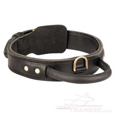 large leather collars leather collar with handle large collar 163 38 48