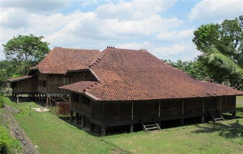 rumah adat sumatera selatan rumah limas gambar  penjelasannya adat tradisional