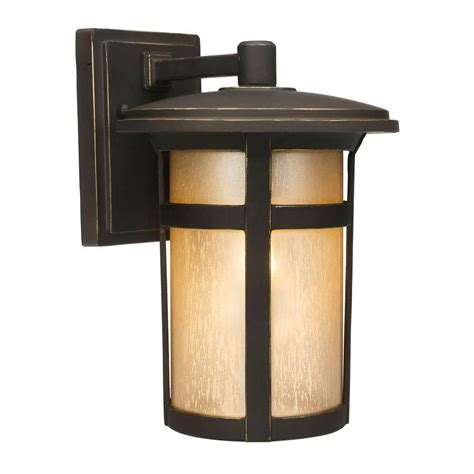 outdoor wall home decorators collection craftsman 1 light