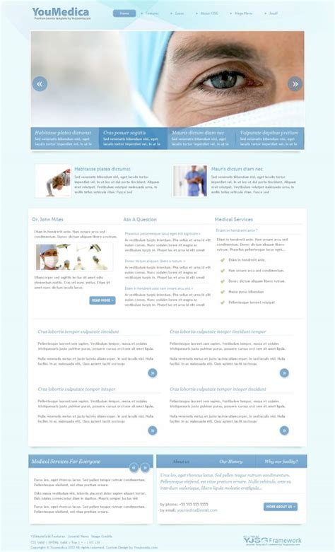 template joomla medical youmedica medical joomla template