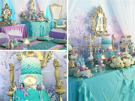 Mermaid Baby Shower Decorations by Beautiful Golden Mermaid Baby Shower Baby Shower Ideas