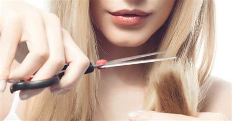 Comment Couper Des Cheveux by Comment Bien Se Couper Les Cheveux Seule Fourchette