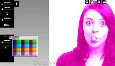 editar imagenes web cam pixect efectos para fotos online desde la webcam
