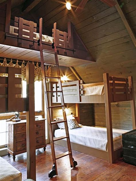 Attic Bunk Room Ideas - attic bedroom bunk beds
