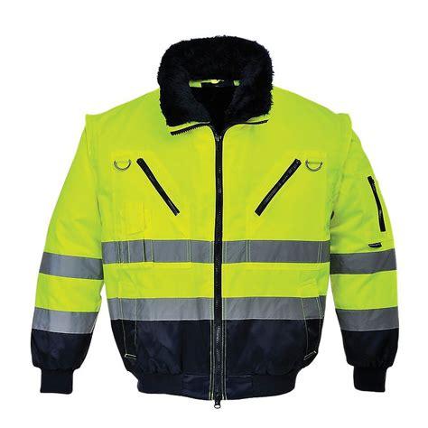 Jaket Navi Black Yellow 1 pilot jacket hv 3in1 yellow navy pj50 portwest