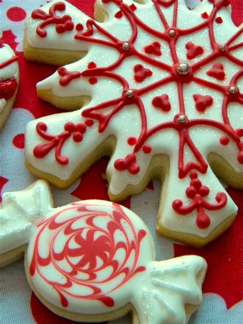 images of christmas baking occasional cookies red and white christmas cookies