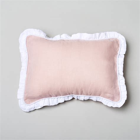 Toddler Pillow by Caprice Linen Toddler Pillow Petal Pink