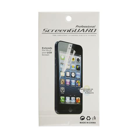 Hp Iphone 5 Transparan iphone 5 clear screen protector fixez