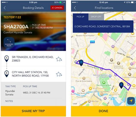 comfort delgro comfortdelgro released newly redesigned app and it looks