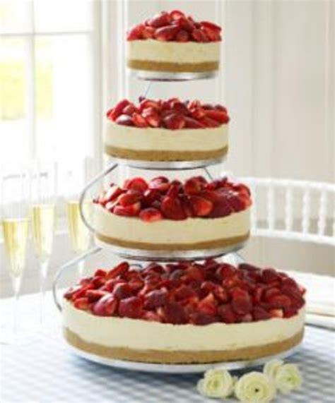 Hochzeitstorte Cheesecake by Layered Cheesecakes Wedding Cake Possible Wedding Ideas